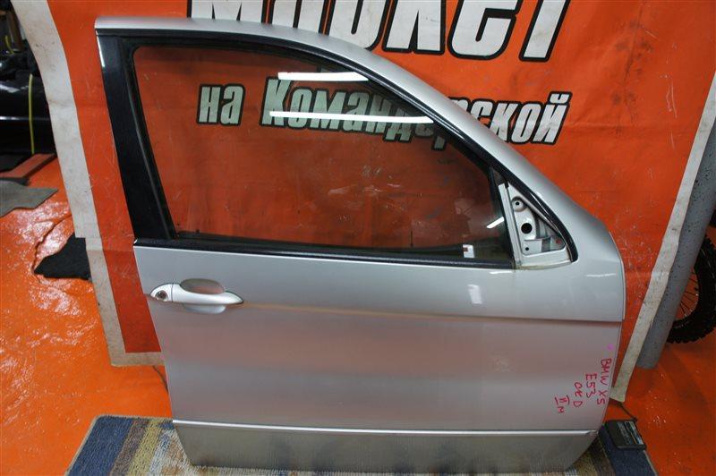 Дверь Bmw X5 E53 2006 передняя правая