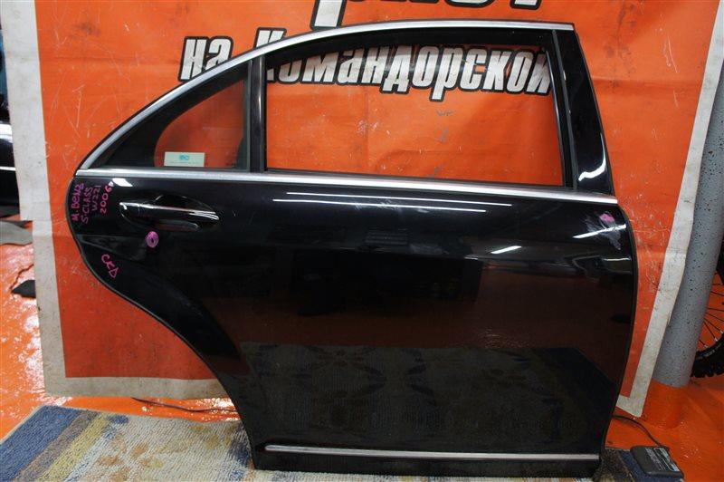 Дверь Mercedes-Benz S-Class W221 273.961 задняя правая