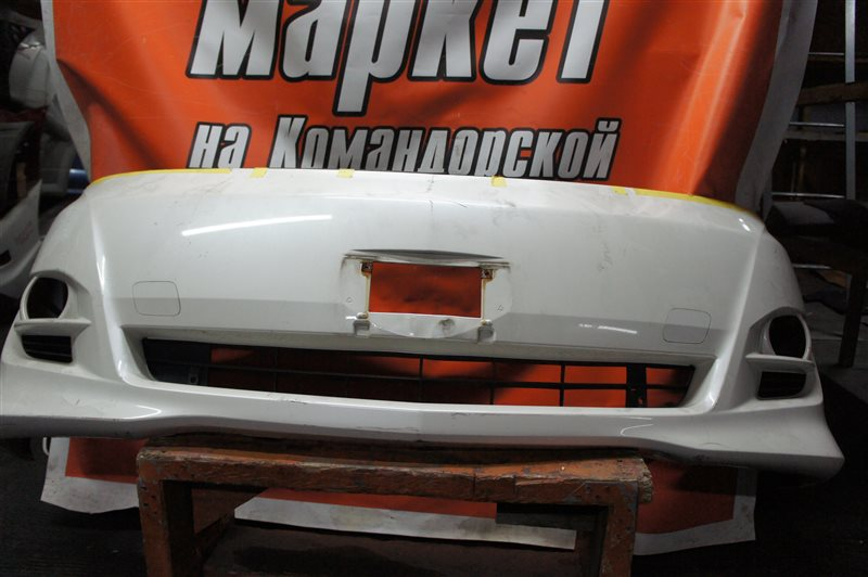 Бампер Toyota Alphard ANH10 передний