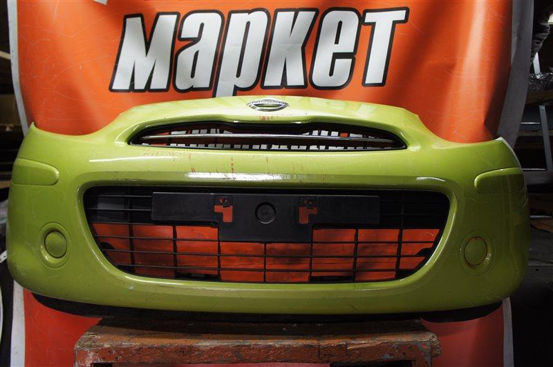Бампер Nissan March K13 передний