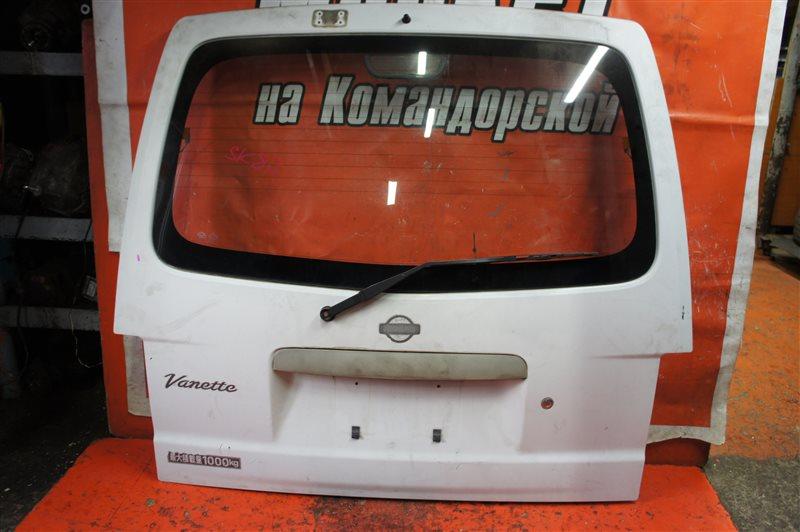 Дверь 5-я Nissan Vanette SK22 задняя
