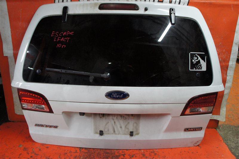Дверь 5-я Mazda Ford Escape LFACT 2010 задняя