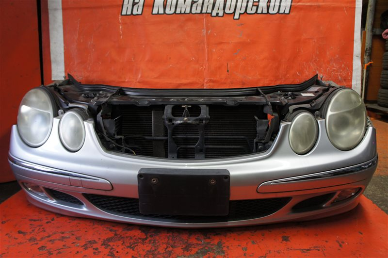 Nose cut Mercedes-Benz E-Class W211 M112E26 передний