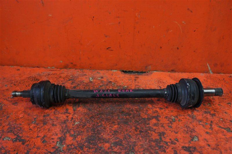 Привод Bmw X5 E53 N62B44 2006 задний левый