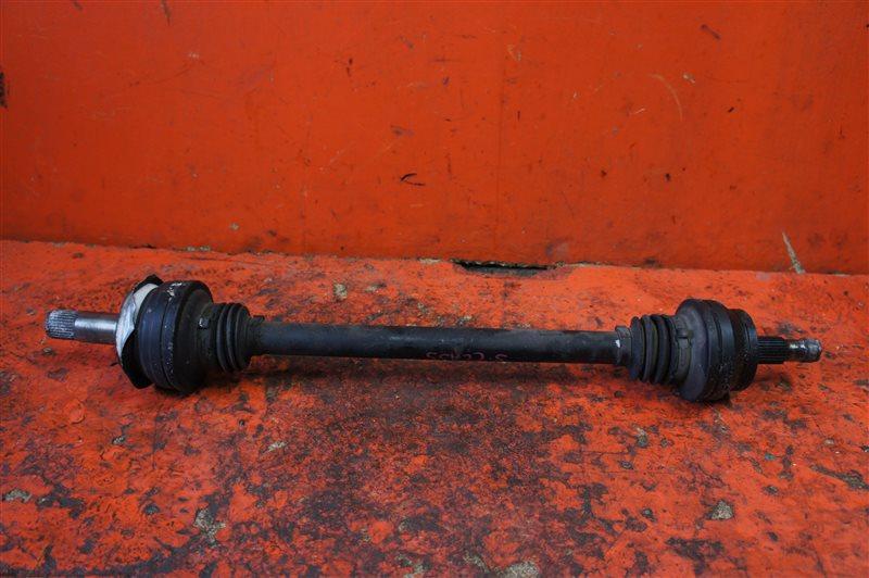 Привод Bmw X5 E53 N62B44 2006 задний правый