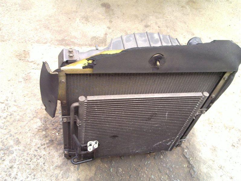 Радиатор кондиционера Mitsubishi Canter FE638EV 4D35
