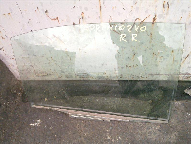 Стекло двери Toyota Premio NZT240 2004 заднее правое
