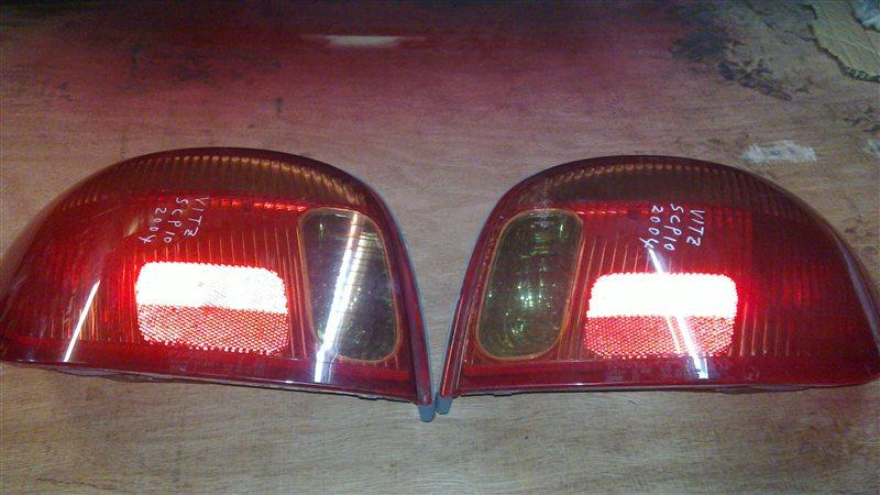 Стоп-сигнал Toyota Vitz 10 2004 задний левый