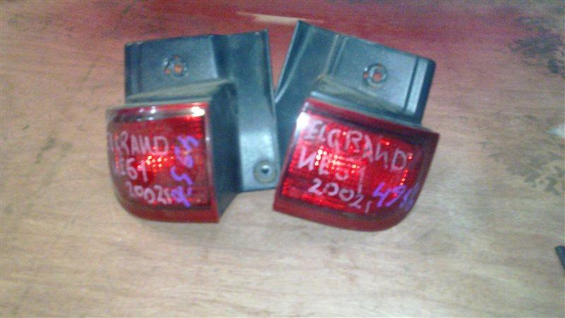 Стоп-сигнал Nissan Elgrand NE51 задний правый