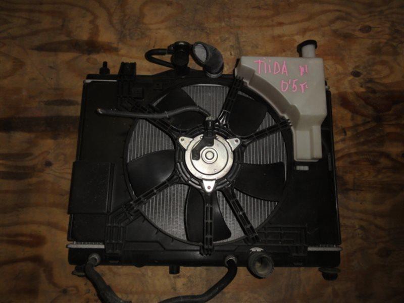 Радиатор основной Nissan Tiida C11 HR15 2006