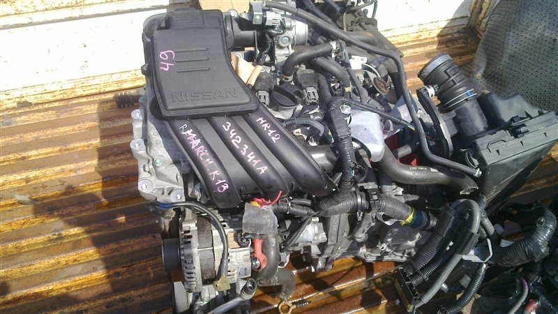Двигатель Nissan March K13 HR12 2011