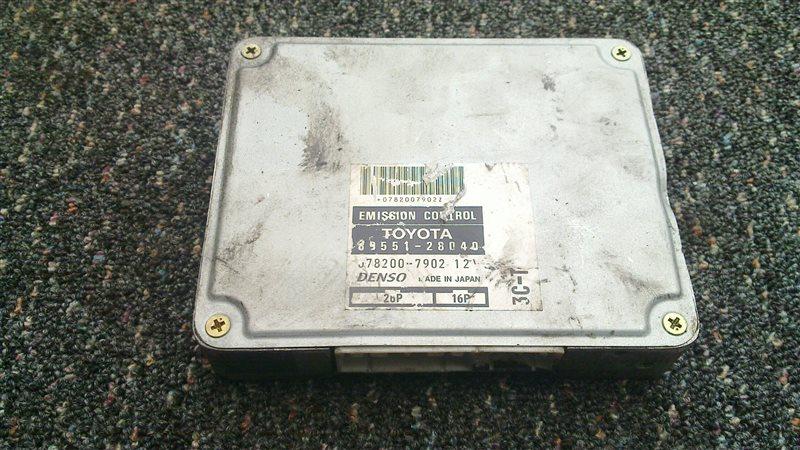 Блок управления efi Toyota Noah CR40 3C-T