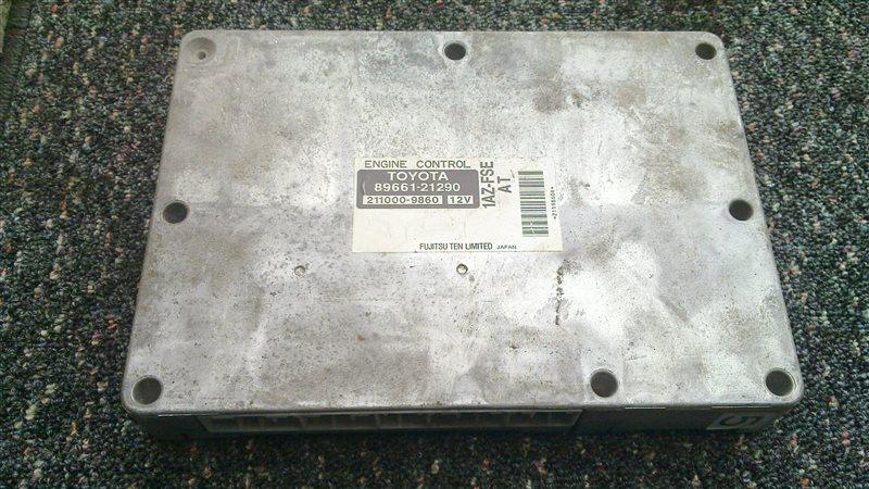 Блок управления efi Toyota Caldina AZT241 1AZ-FSE