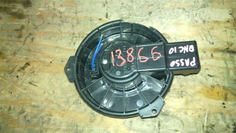 Мотор печки Toyota Passo QNC10