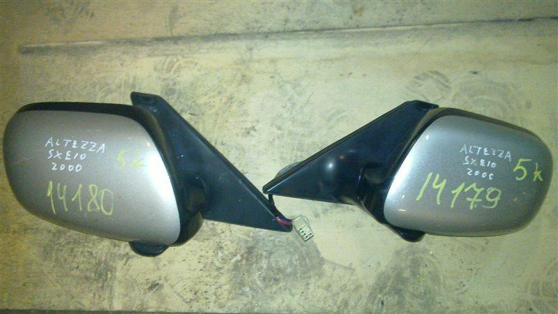 Зеркало Toyota Altezza SXE10 переднее правое