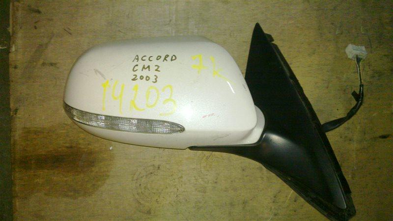 Зеркало Honda Accord CM2 2003 переднее правое