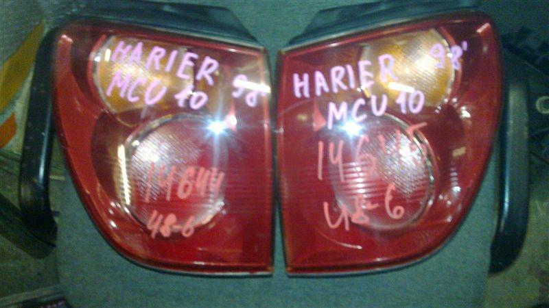 Стоп-сигнал Toyota Harrier MCU15 1998 задний левый