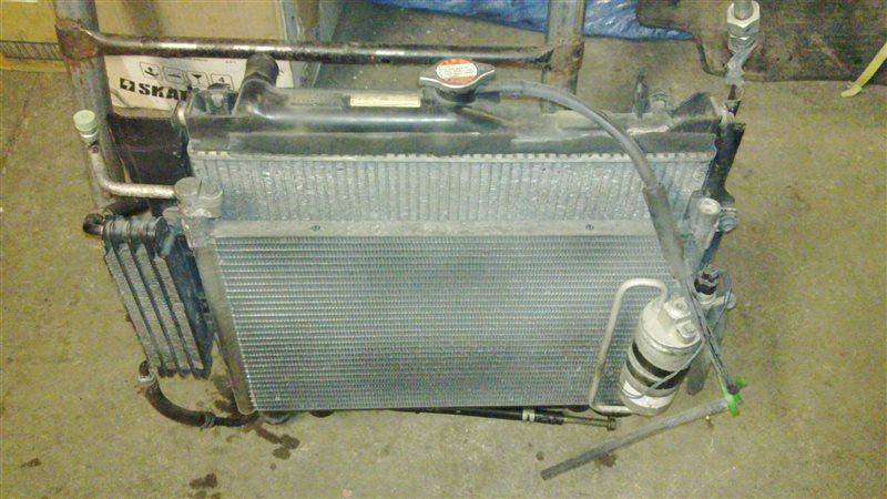 Радиатор кондиционера Suzuki Jimny JB23W K6A-T 2001