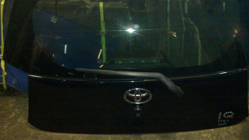 Дверь задняя Toyota Iq KGJ10 2009