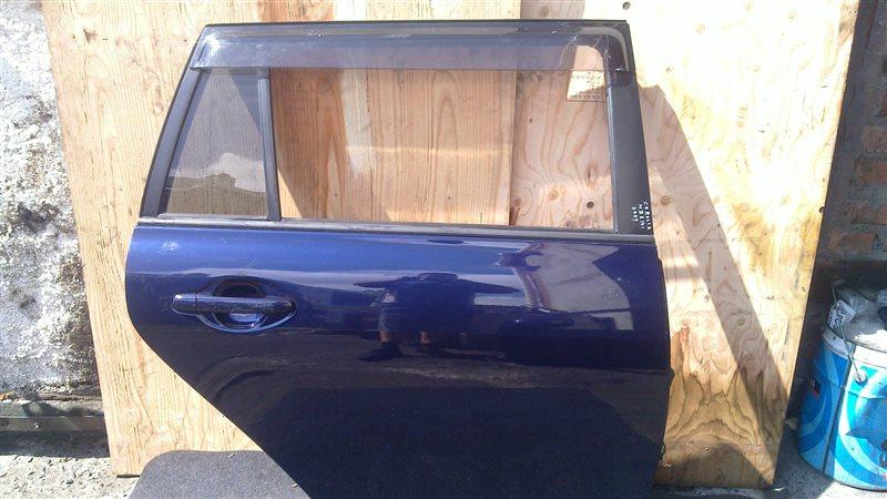 Дверь Toyota Corolla Fielder NZE141 2007 задняя правая