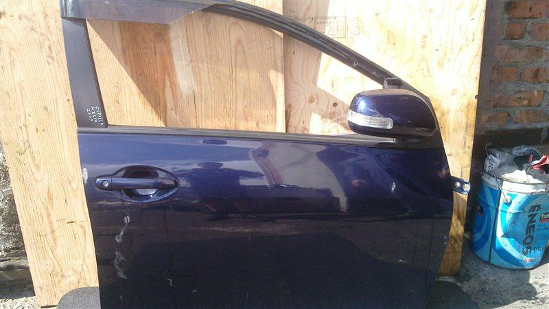 Дверь Toyota Corolla Fielder NZE141 2007 передняя правая