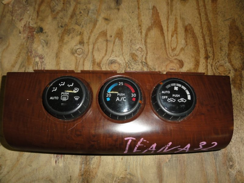 Блок управления климат-контролем Nissan Tiida C11