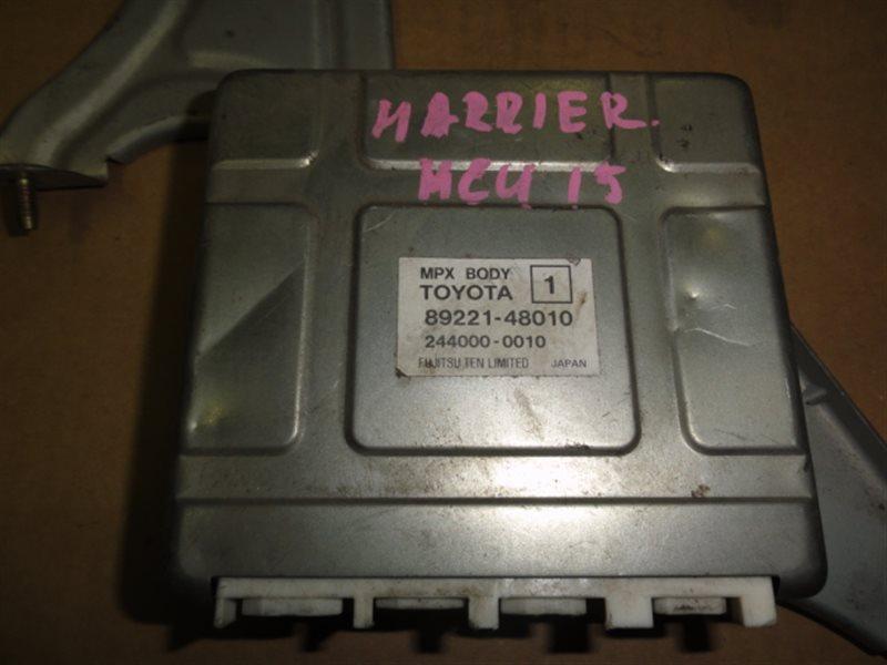 Блок управления efi Toyota Harrier MCU15 1MZ