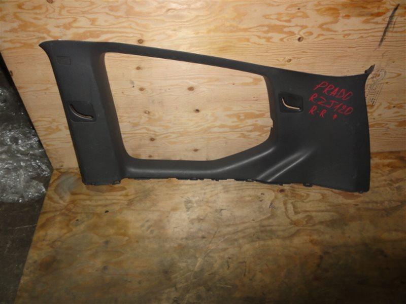 Обшивка багажника Toyota Land Cruiser Prado RZJ120 2004 правая верхняя