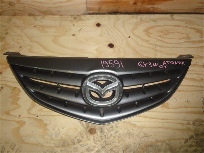 Решетка радиатора Mazda Atenza GY3W 2004