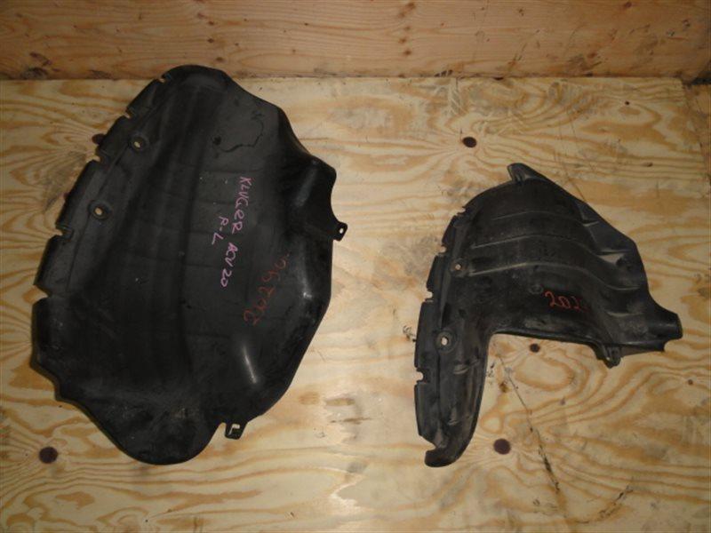 Подкрылок Toyota Kluger ACU20 задний левый