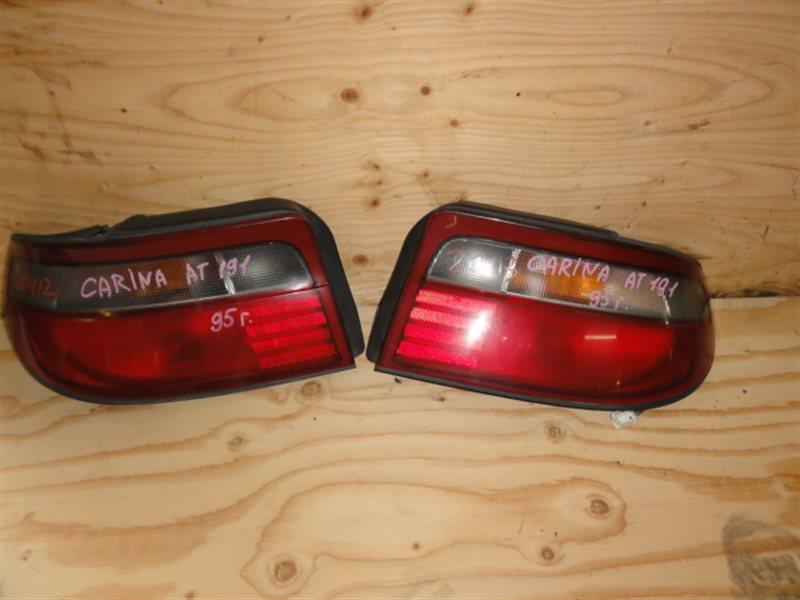 Стоп-сигнал Toyota Carina AT191 1995 задний правый