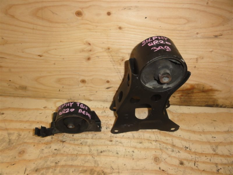 Подушка двигателя Nissan Bluebird Sylphy TG10 QR20 задняя