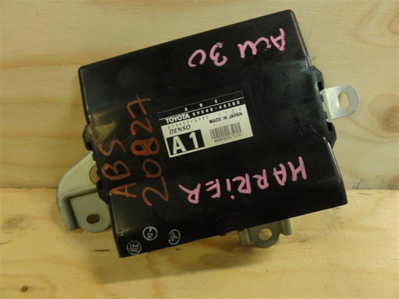 Блок управления abs Toyota Harrier ACU30 2005