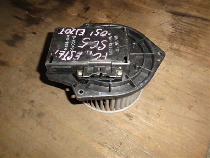 Мотор печки Subaru Forester SG5 2005