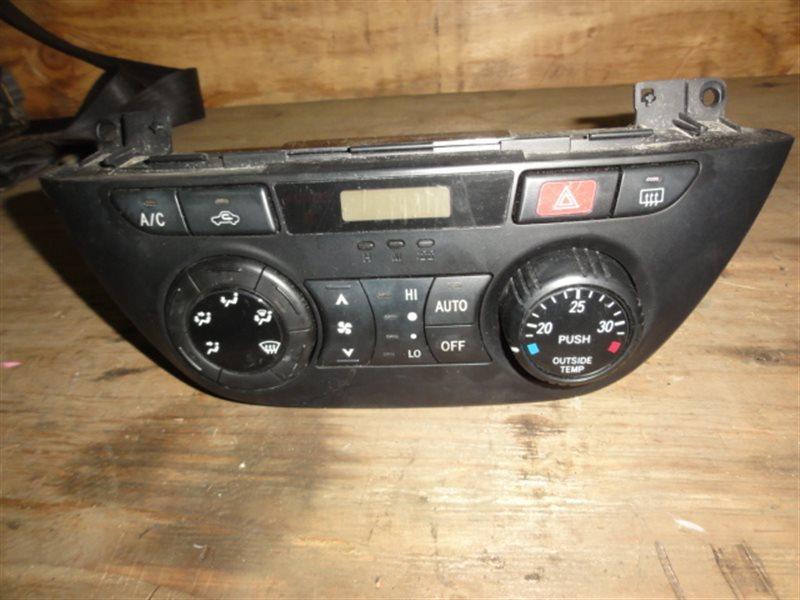 Блок управления климат-контролем Toyota Rav4 ZCA25 2002