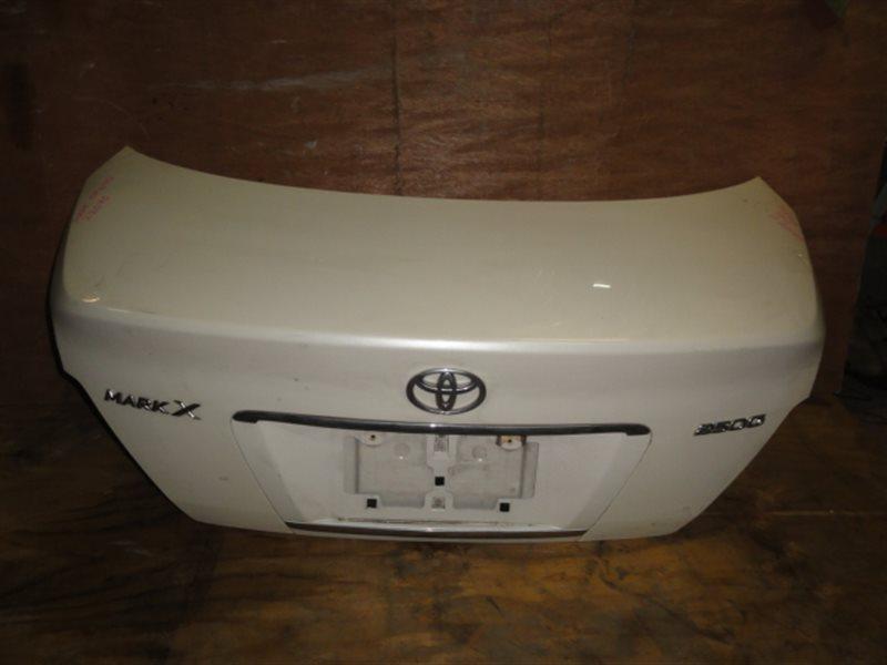 Крышка багажника Toyota Mark X GRX120 2007