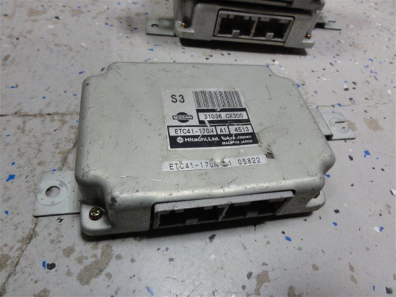 Блок управления автоматом Nissan Serena TC24 QR20