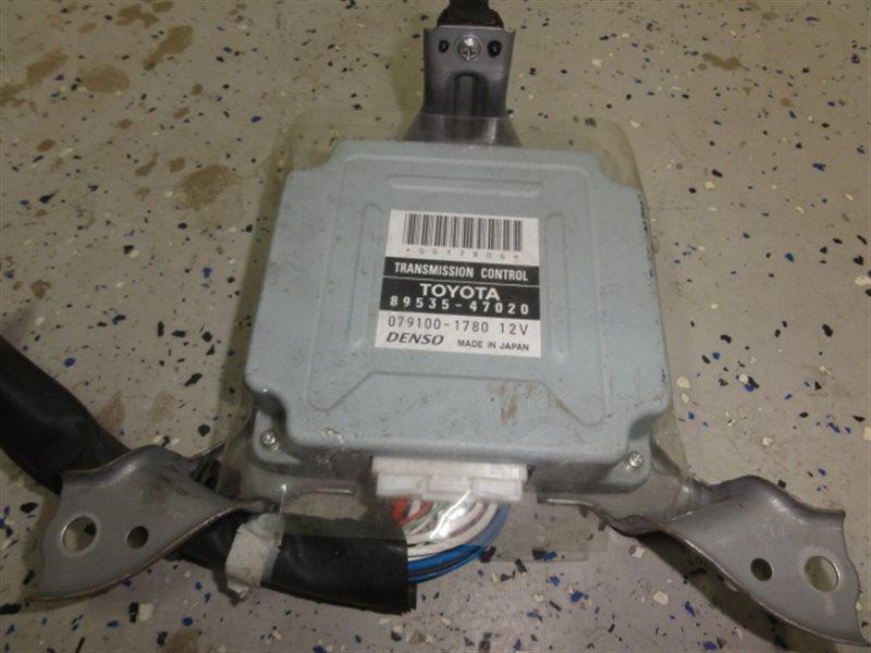 Блок управления автоматом Toyota Prius NHW20 1NZ-FXE 2006