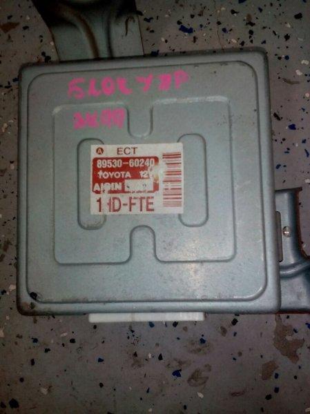 Блок управления автоматом Toyota Land Cruiser HDJ101 1HD-FTE 1998