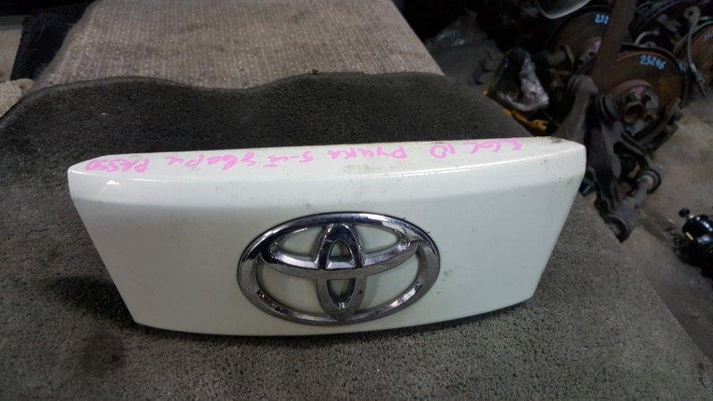 Ручка задней двери Toyota Passo KGC10 1KR 2006