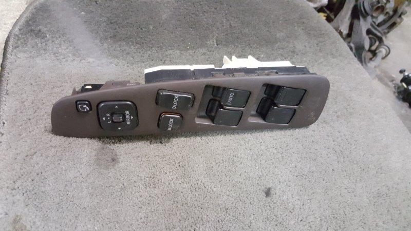 Блок упр. стеклоподьемниками Toyota Crown GS141 1G-FE 1995 передний правый