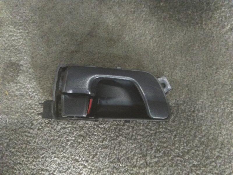 Ручка двери Mitsubishi Pajero Io H76W задняя левая