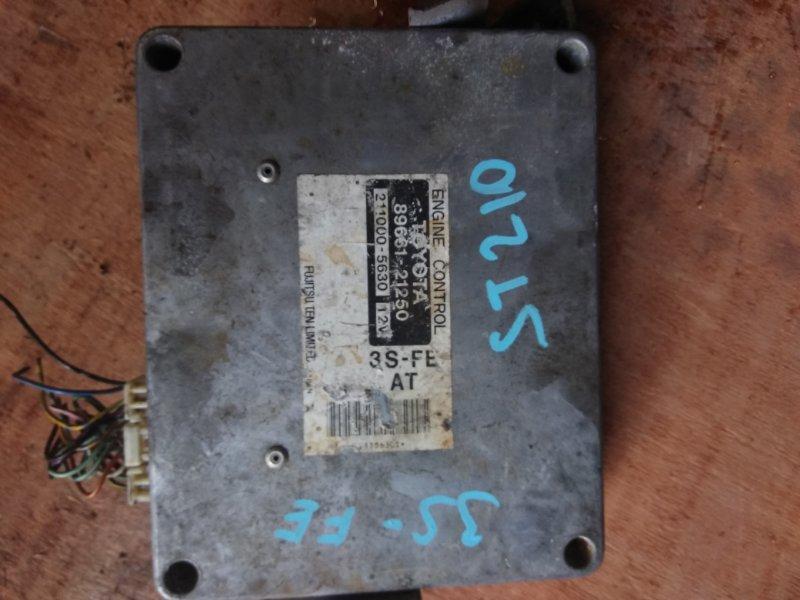 Блок управления efi Toyota Caldina ST210 3S-FE 1998