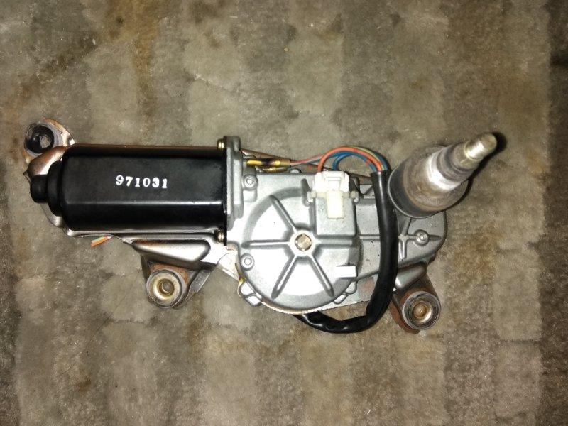 Моторчик заднего дворника Nissan Largo W30 KA24 1998