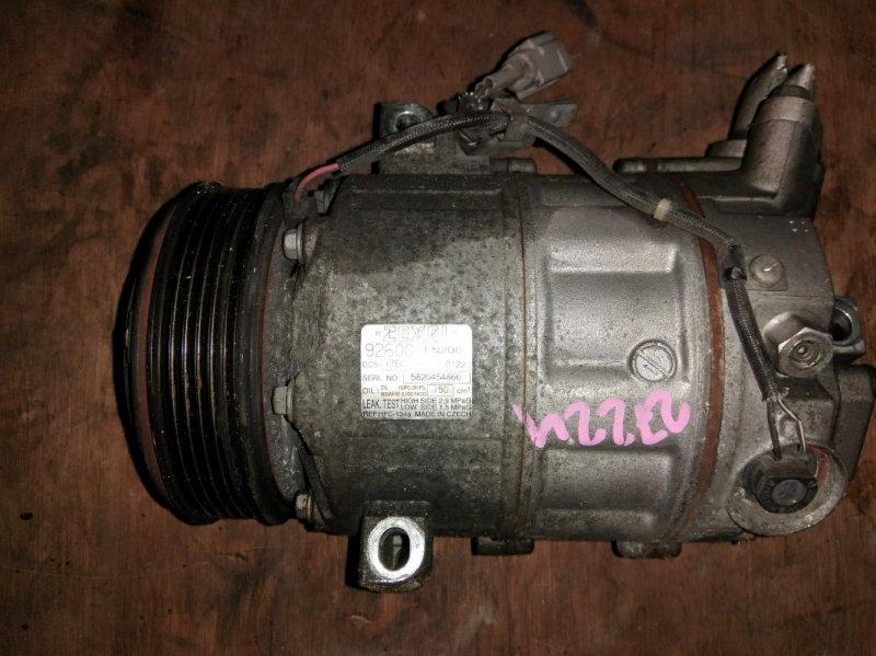 Компрессор кондиционера Nissan Lafesta B30 MR20 2005
