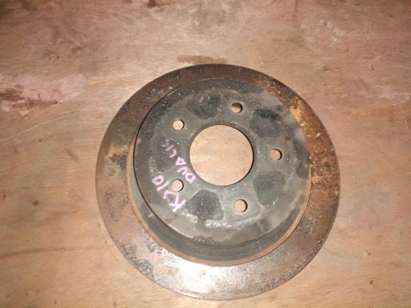 Тормозной диск Nissan Dualis KJ10 MR20 2001 задний правый