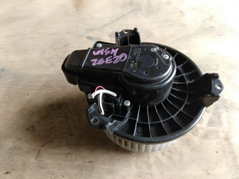 Мотор печки Toyota Wish ZGE20 2ZR-FAE 2010