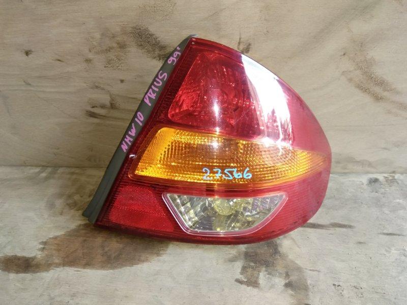 Стоп-сигнал Toyota Prius NHW10 1NZ-FXE 1999 правый