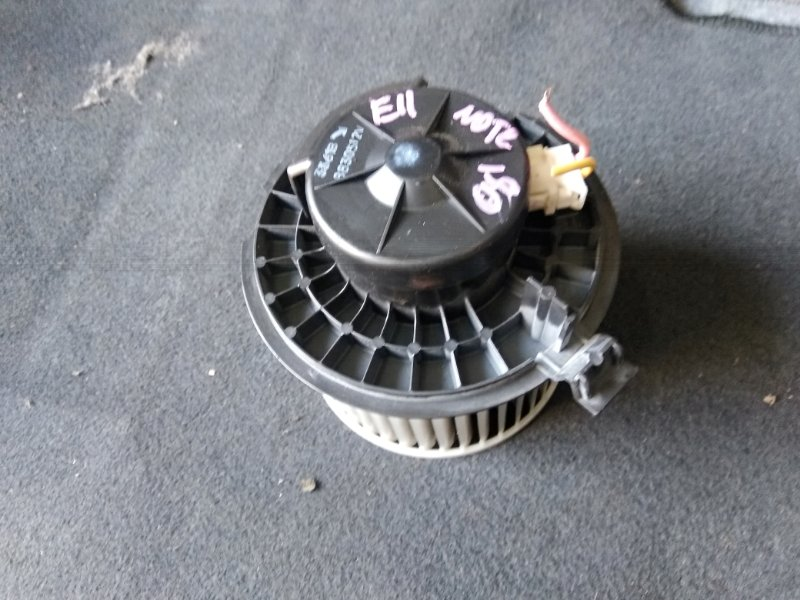 Мотор печки Nissan Note E11 HR15 2008