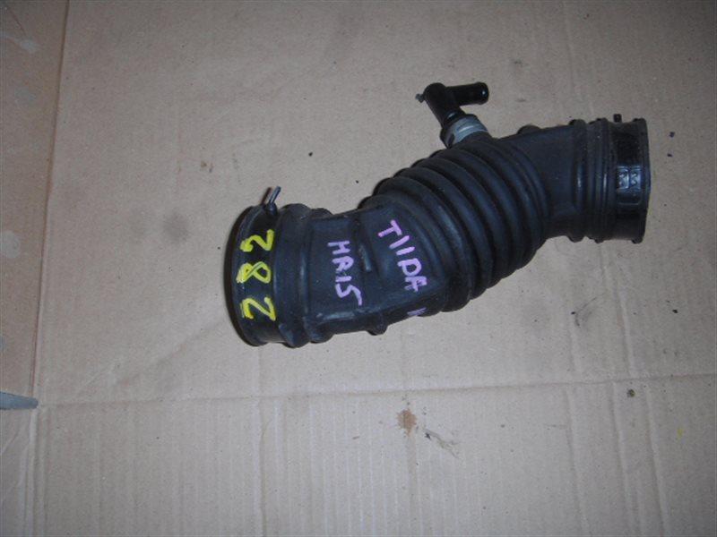 Патрубок воздушного фильтра Nissan Tiida NC11 HR15 ст.115000282